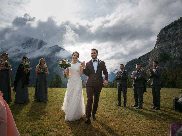 Mike and Santana's wedding in Banff, Alberta 11