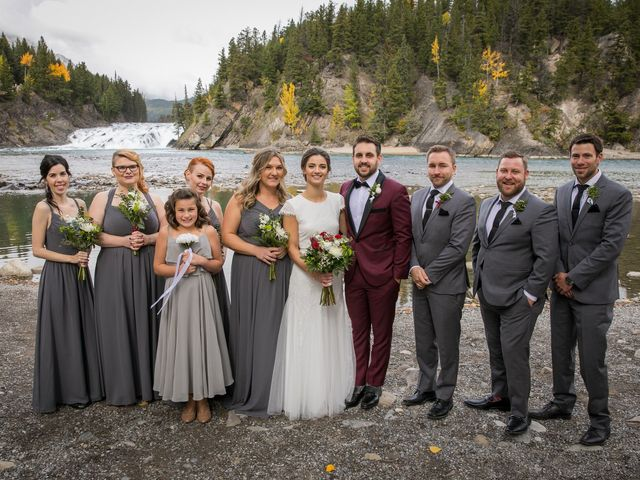 Mike and Santana's wedding in Banff, Alberta 12