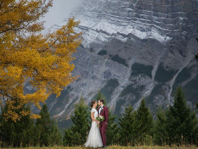 Mike and Santana's wedding in Banff, Alberta 13