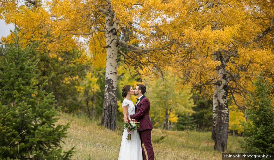 Mike and Santana's wedding in Banff, Alberta