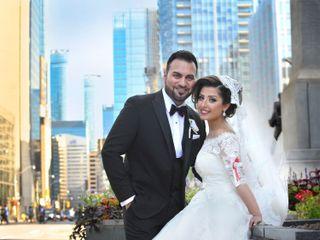 The wedding of Shamira and Ninara