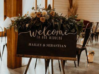 The wedding of Hailey  and Sebastian 2
