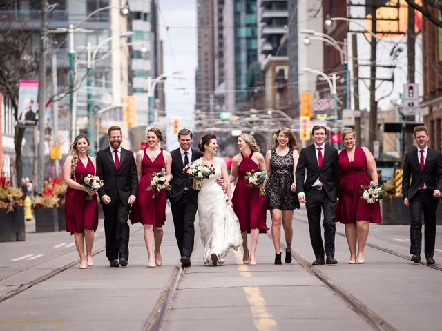 Ryan and Meghan's wedding in Toronto, Ontario 1