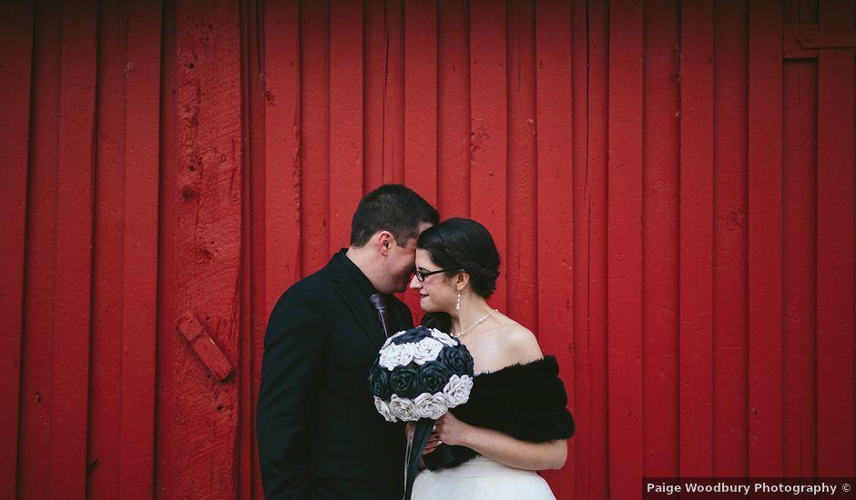 Marcus and Jessica's wedding in Calgary, Alberta