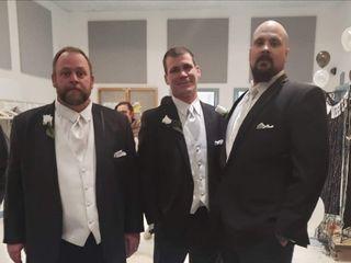 The wedding of Tina and Chris  1