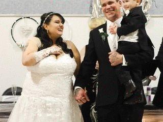 The wedding of Tina and Chris