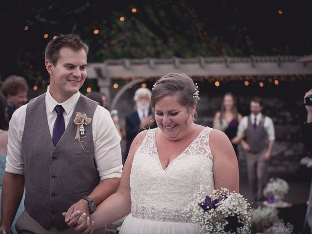 The wedding of Amy and Tom