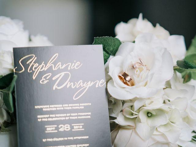 Dwyane and Stephanie's wedding in Toronto, Ontario 4