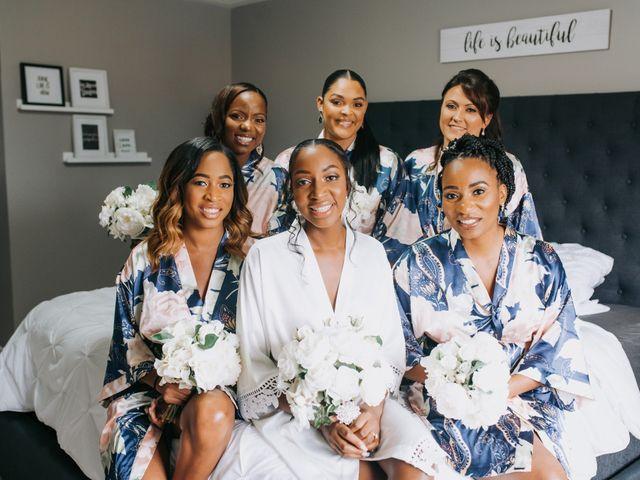 Dwyane and Stephanie's wedding in Toronto, Ontario 22