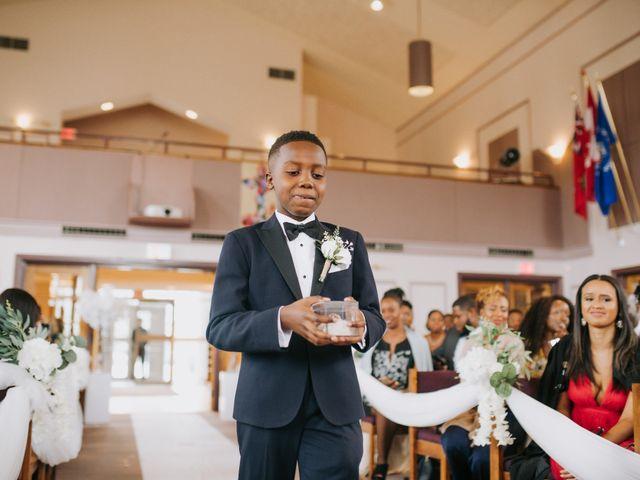 Dwyane and Stephanie's wedding in Toronto, Ontario 54