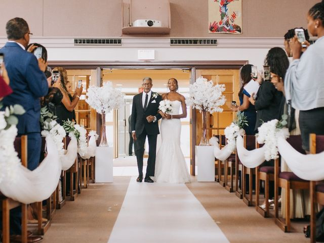 Dwyane and Stephanie's wedding in Toronto, Ontario 56