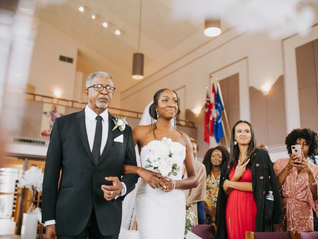 Dwyane and Stephanie's wedding in Toronto, Ontario 61