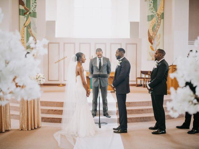 Dwyane and Stephanie's wedding in Toronto, Ontario 87