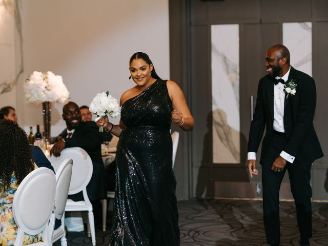 Dwyane and Stephanie's wedding in Toronto, Ontario 125