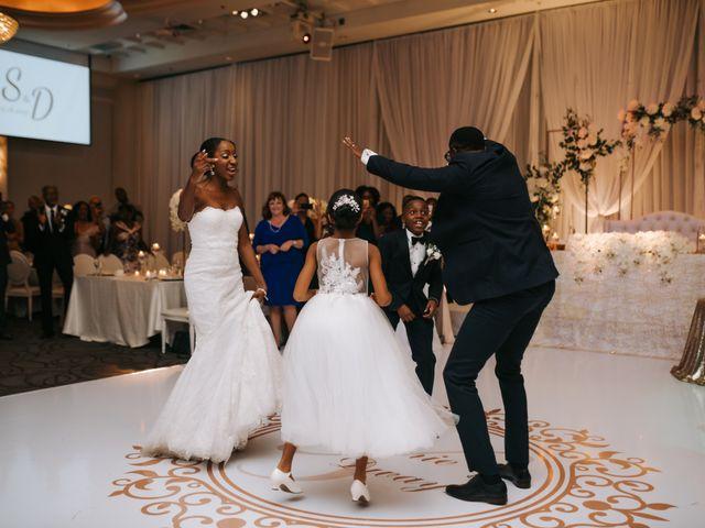 Dwyane and Stephanie's wedding in Toronto, Ontario 143