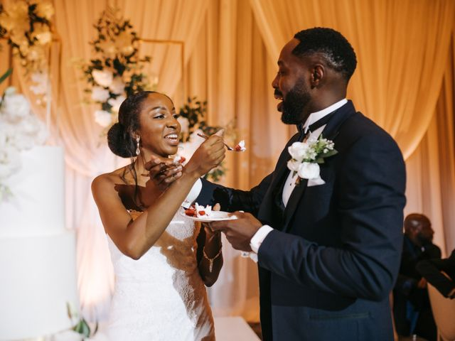 Dwyane and Stephanie's wedding in Toronto, Ontario 147