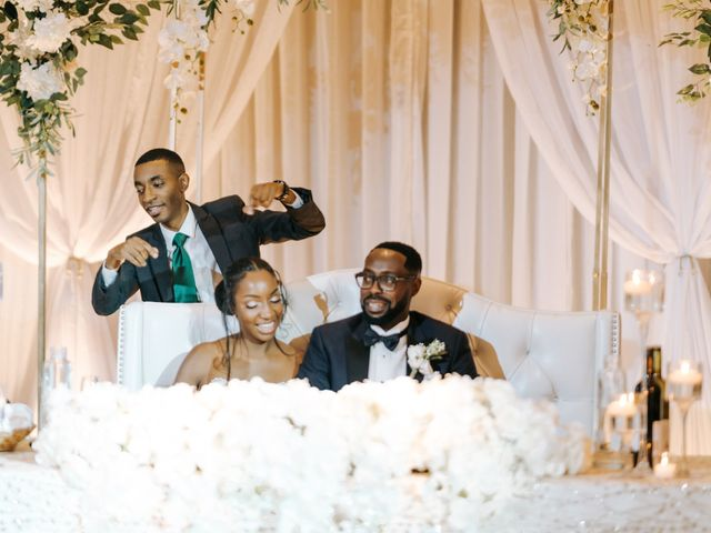 Dwyane and Stephanie's wedding in Toronto, Ontario 157