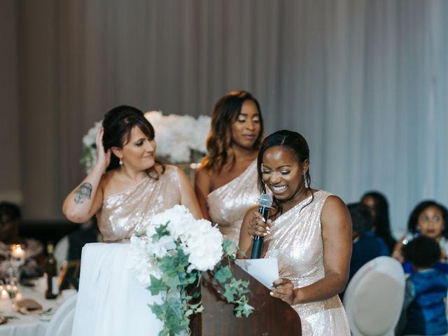 Dwyane and Stephanie's wedding in Toronto, Ontario 197