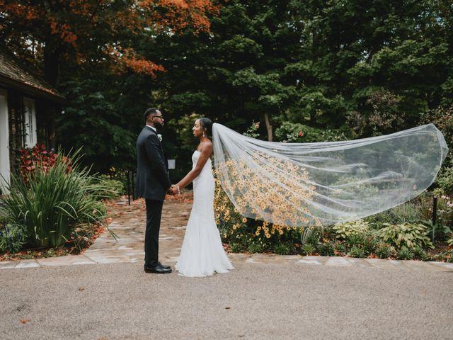 The wedding of Stephanie and Dwyane