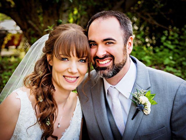 The wedding of Stephanie and Jordan