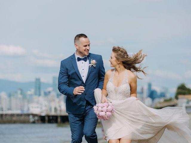 The wedding of Ekaterina and Jackson