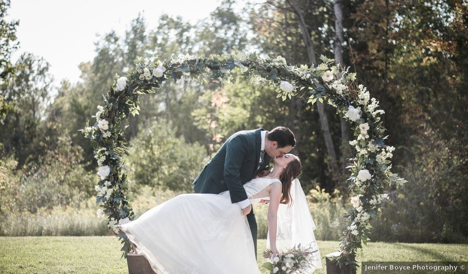 Cooper and Jenny's wedding in Caledon, Ontario