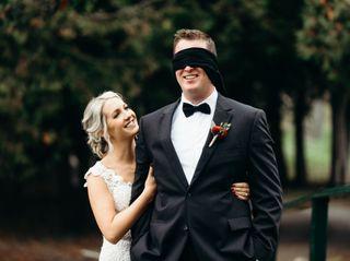 The wedding of Gillian and Mark 1