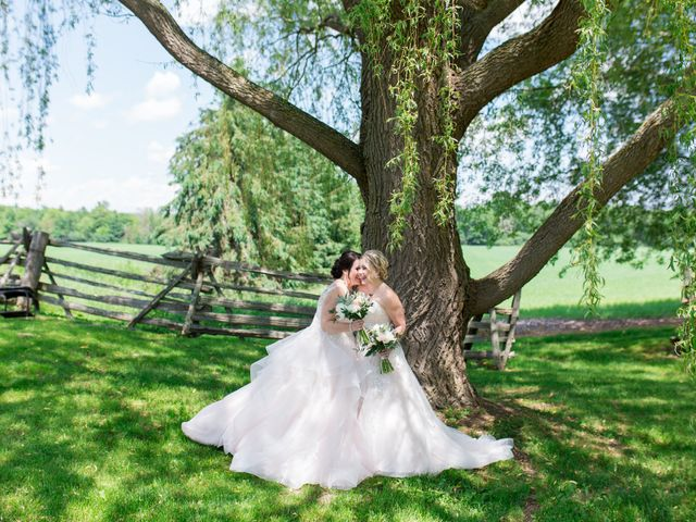 The wedding of Annabelle and Amanda