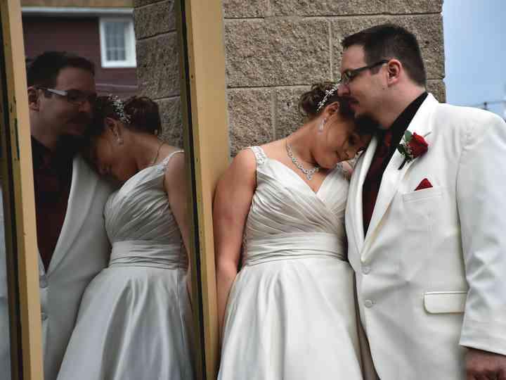 The wedding of Natasha and Garrett
