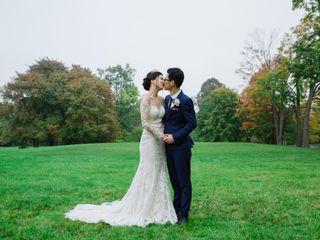 The wedding of Amy and John