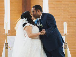 The wedding of Matthew and Christen