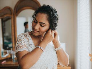 The wedding of Aishwarya and Alok 1