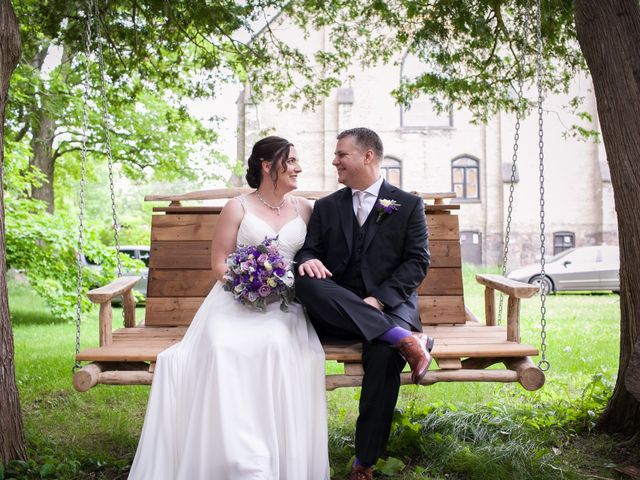 Tracy and Steve's wedding in Millbrook, Ontario 2