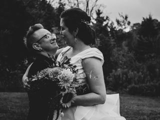 The wedding of Christina and Radford