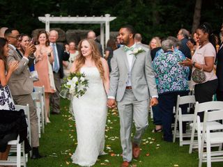 The wedding of Mary and Warren