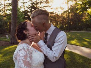 The wedding of Samantha and Leighton