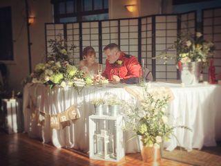The wedding of Lisa and Brandon