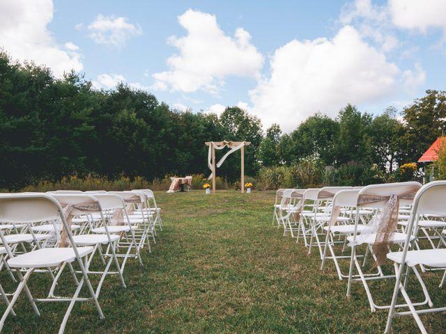 Alicia and Nicolas's wedding in Durham, Ontario 6