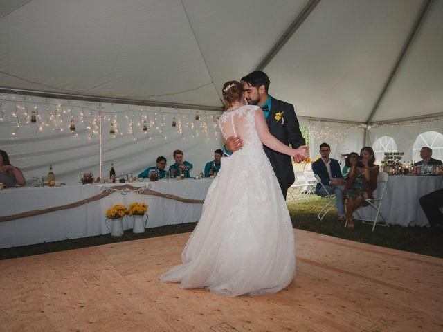 Alicia and Nicolas's wedding in Durham, Ontario 14