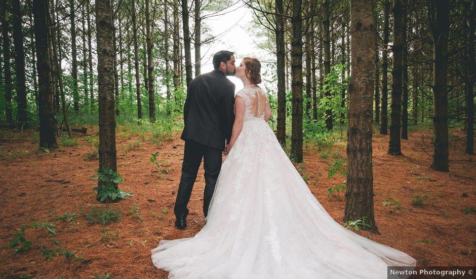 Alicia and Nicolas's wedding in Durham, Ontario