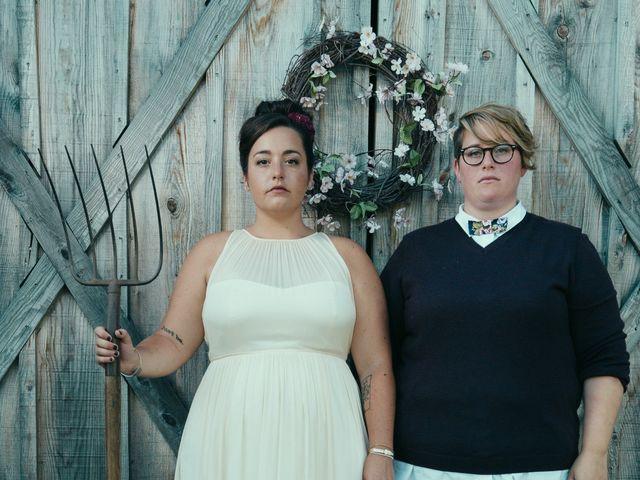 The wedding of Erica and Alyssa