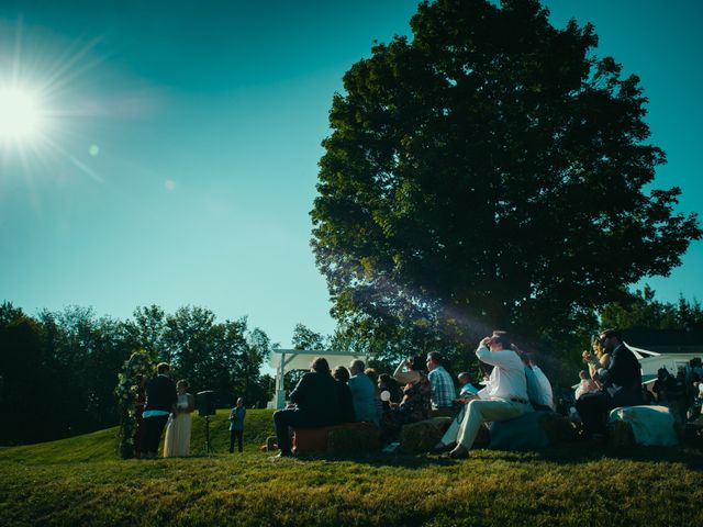 Alyssa and Erica's wedding in Knowlton, Quebec 7