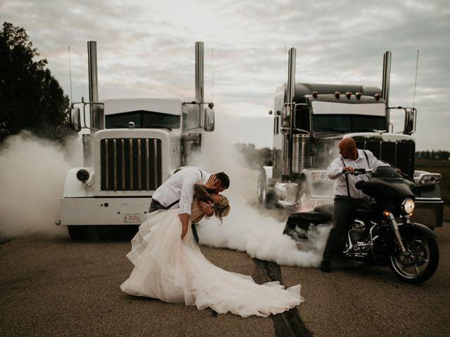 The wedding of Kara and Scott