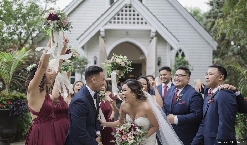 Paul and Zia's wedding in Kleinburg, Ontario