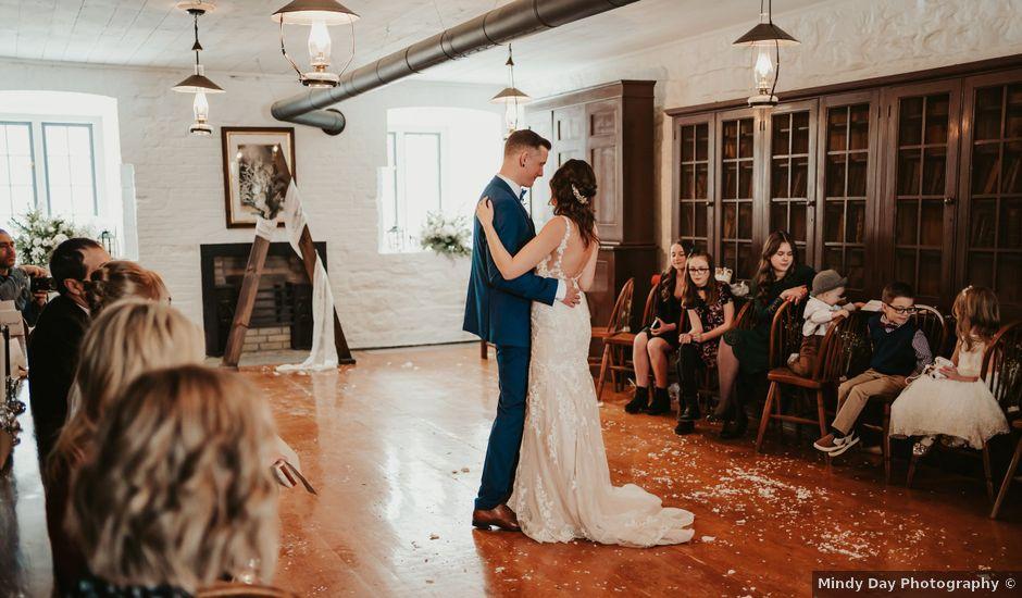 Dan and Vanessa's wedding in Halifax, Nova Scotia