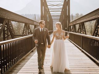 The wedding of Paige and Justin