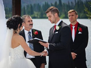 The wedding of Jessica and David