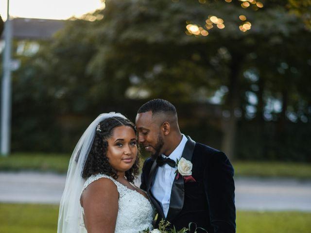 The wedding of Cassondra and Josh