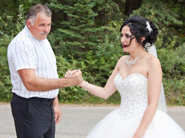 David and Jessica's wedding in Jasper, Alberta 15