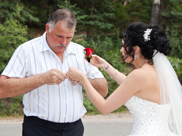 David and Jessica's wedding in Jasper, Alberta 16